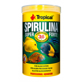 Сухой корм Tropical Super Spirulina Forte для рыб фото