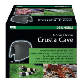 Декорация для мини-аквариума Dennerle Nano Decor Crusta Cave, 10,5 х 7,0 х 7,4 см фото