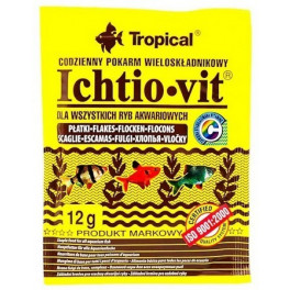 Сухой корм Tropical Ichtio-vit для рыб фото