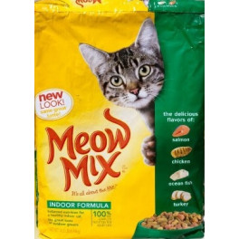 Корм Meow Mix Indoor фото