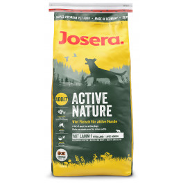 Корм Josera Active Nature, для взрослых собак, с домашней птицей и ягненком фото