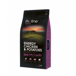 Корм Profine Energy Chicken, для собак с повышенными нагрузками, курица фото